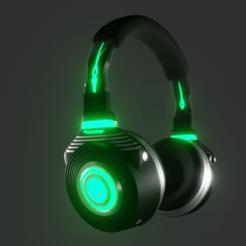 Télécharger fichier 3D Casque d'écoute Vert, Dekro