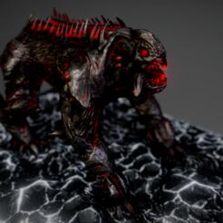 3D print model Creature Bear, Dekro