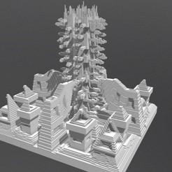 Download 3D printer designs Sci-Fi Building, Dekro
