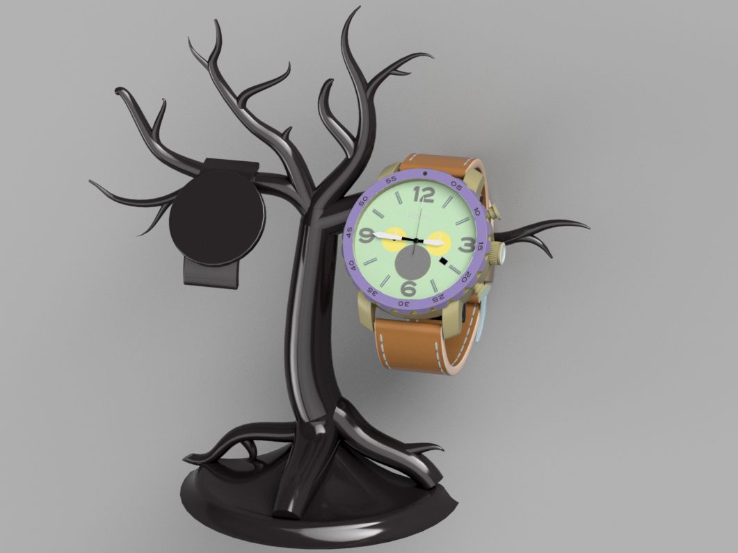 Watch stand.png Download STL file Watch Stand • 3D printer model, Dekro