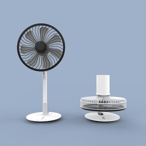 ff.342.jpg Download STL file Folding Table Fan • 3D printer object, Dekro