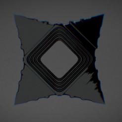 Fichier imprimante 3D Shuriken, Dekro
