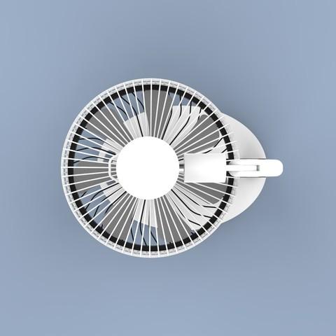 ff.345.jpg Download STL file Folding Table Fan • 3D printer object, Dekro