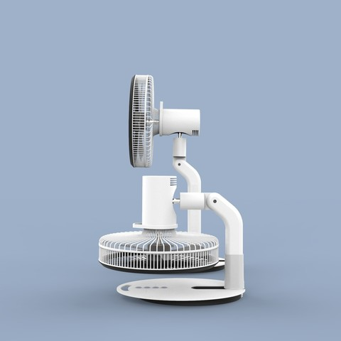 ff.341.jpg Download STL file Folding Table Fan • 3D printer object, Dekro