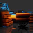 blender_PM5DJjGOa1.png Download STL file Furniture Set • 3D printer object, Dekro