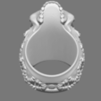 3D printing model Skull Ring, Dekro