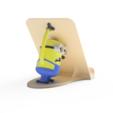 fichier 3d Support pour téléphone Minion, Dekro