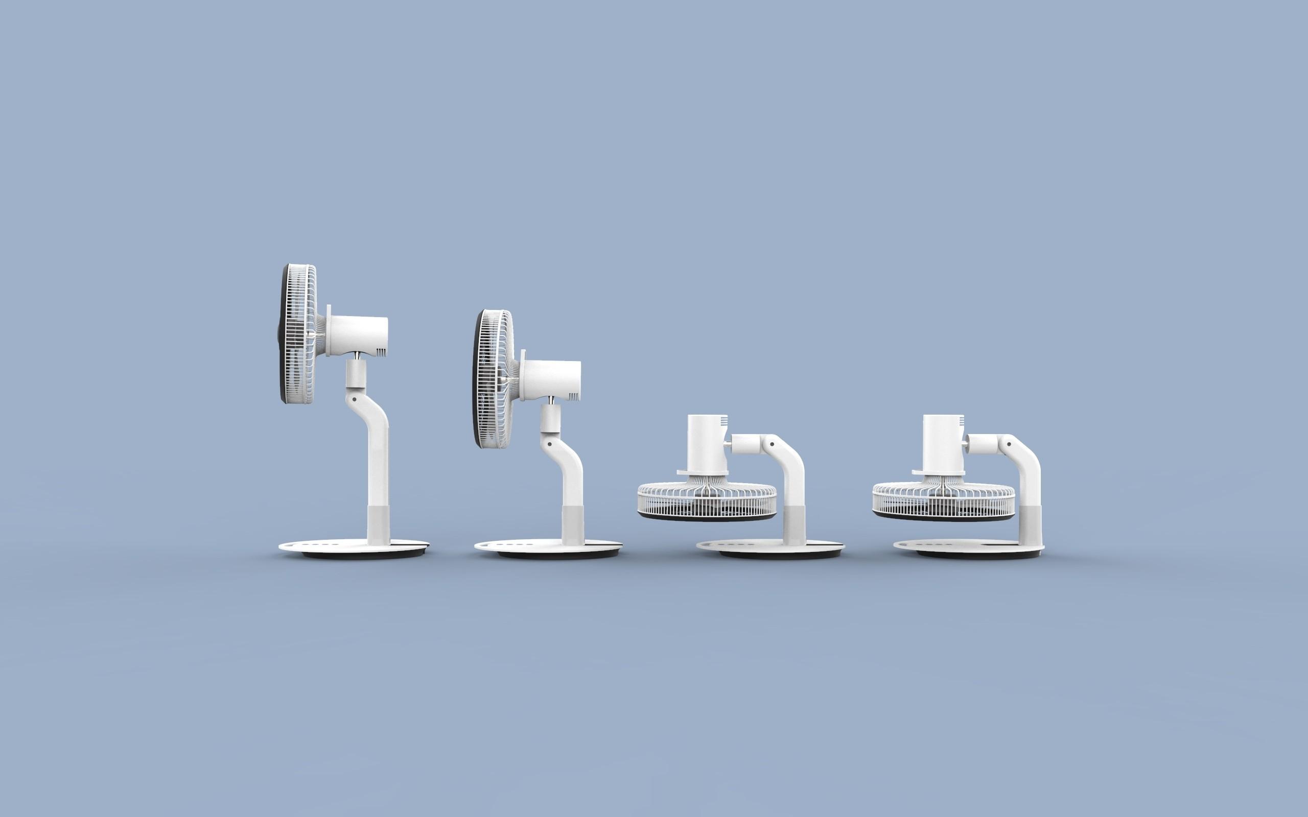ff.333.jpg Download STL file Folding Table Fan • 3D printer object, Dekro