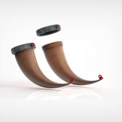 Download 3D printing models Horn Mug, Dekro