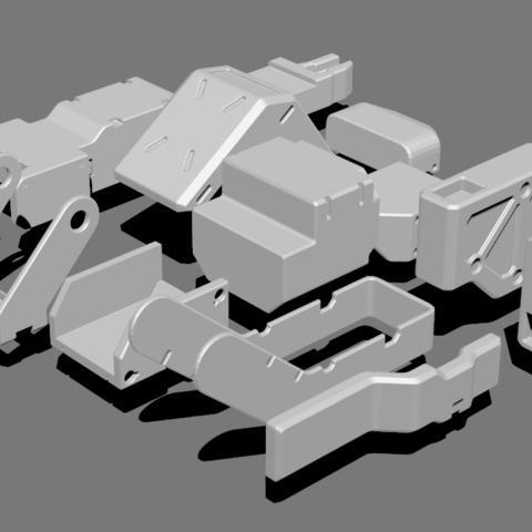 3.png Télécharger fichier STL gratuit Basic Kit-Bash Vol1 • Design à imprimer en 3D, Dekro