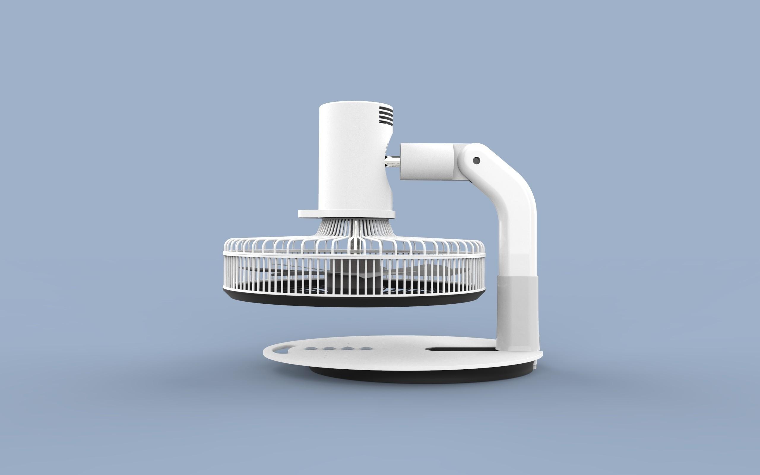 ff.343.jpg Download STL file Folding Table Fan • 3D printer object, Dekro