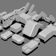 Download free 3D printing designs Basic Kit-Bash Vol1, Dekro