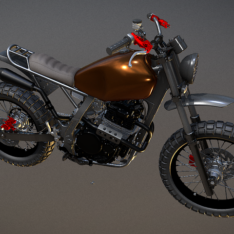 Screenshot_4.png Download STL file Honda NX650 Dominator • 3D printer object, Dekro