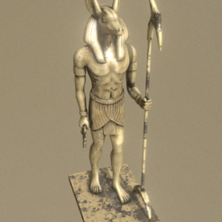 Screenshot_1.png Download STL file Anubis • 3D print template, Dekro
