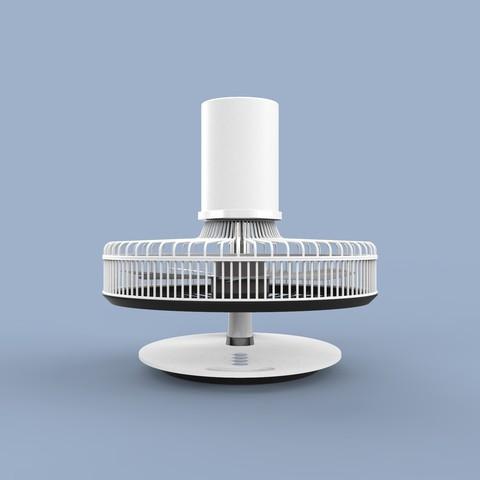 ff.344.jpg Download STL file Folding Table Fan • 3D printer object, Dekro