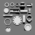 Télécharger fichier imprimante 3D gratuit Basic Kit-Bash Vol3, Dekro
