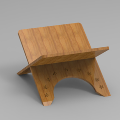 Download 3D printer designs Book Stand, Dekro