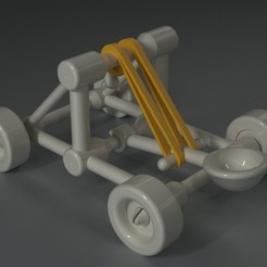 Download free 3D printer model Toy Catapult, Dekro