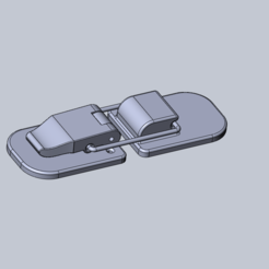 Download 3D model Big Latch, Dekro
