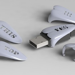 stl file USB Right Side, Dekro