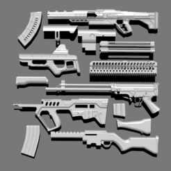 Download 3D printer model IMM GunPack, Dekro