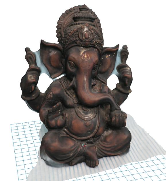 test2(after 3dscan)2.PNG Download OBJ file Lord Vinayaka • 3D printable template, Dekro