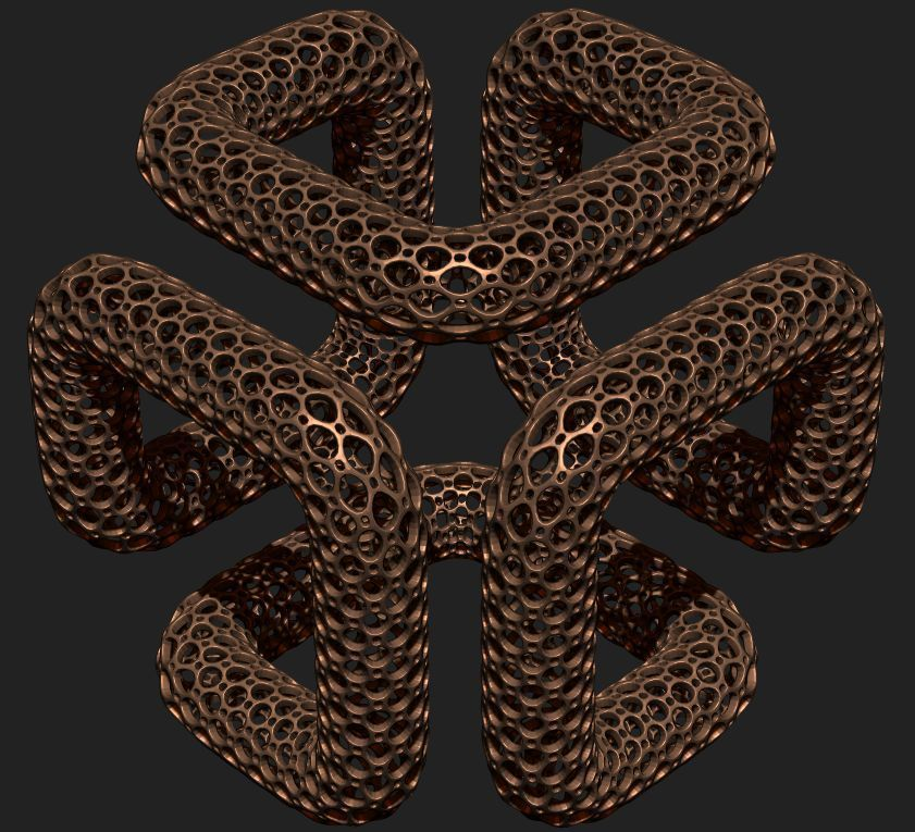 shape edge of the cube.jpg Download STL file Cube Table • 3D printable model, Dekro