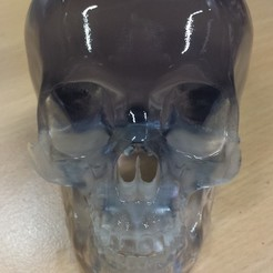 3D print model Crystal Skull, Dekro