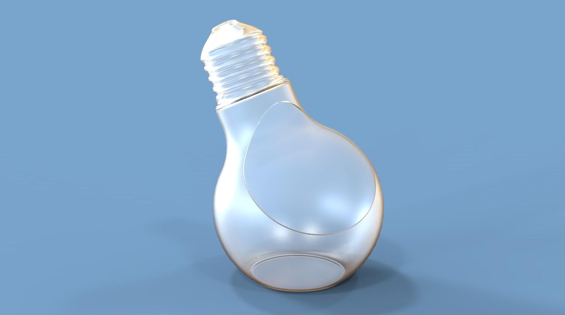 untitled.147.jpg Download STL file Bulb Pot • 3D printable design, Dekro