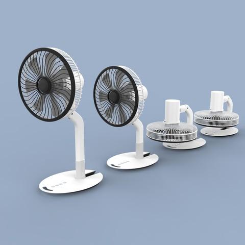 ff.334.jpg Download STL file Folding Table Fan • 3D printer object, Dekro