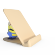 Fichier impression 3D Support pour téléphone Minion, Dekro