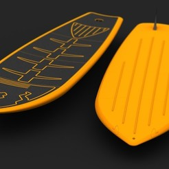 3D printing model Portable Paddle Surfboard, Dekro