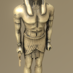 horus.png Download STL file Horus • Design to 3D print, Dekro