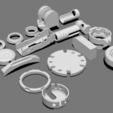 Download free STL Basic Kit-Bash Vol3, Dekro