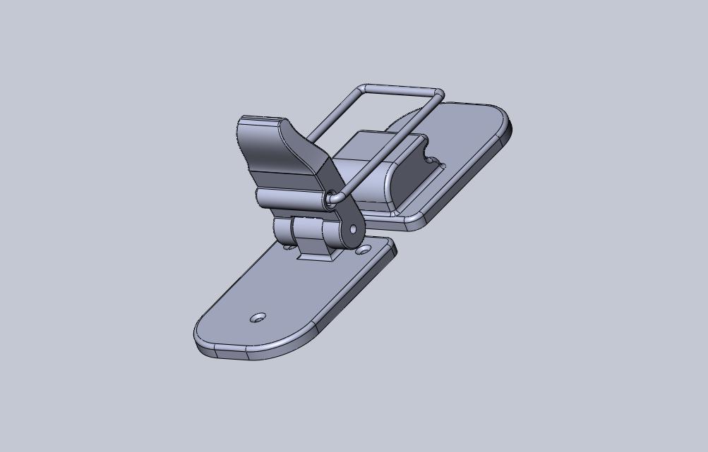 Screenshot 2014-06-13 15.01.29.png Download STL file Big Latch • 3D printable object, Dekro