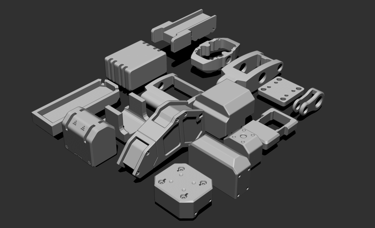 1.png Download free STL file Basic Kit-Bash Vol2 • Model to 3D print, Dekro