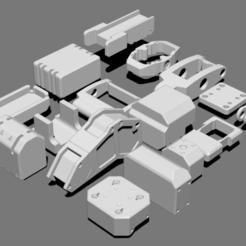 Télécharger fichier STL gratuit Basic Kit-Bash Vol2, Dekro