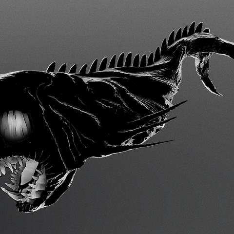 STL files Depth Creature, Dekro