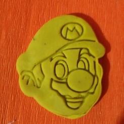 Descargar modelos 3D cortador de galletas mario, drakoreload03
