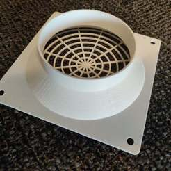 IMG_20200818_141926.jpg Download free STL file AC Infinity Fan to 4in Dryer Duct • 3D print object, RT3DWorkshop