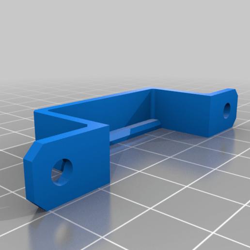 Download free STL file AmazonBasics Slim High-Speed 10 Port USB 3.0 Hub Wall Mounts • 3D print model, RT3DWorkshop