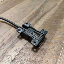 Télécharger fichier STL gratuit Support de câble d'extension AmazonBasics USB 2.0 • Objet imprimable en 3D, RT3DWorkshop