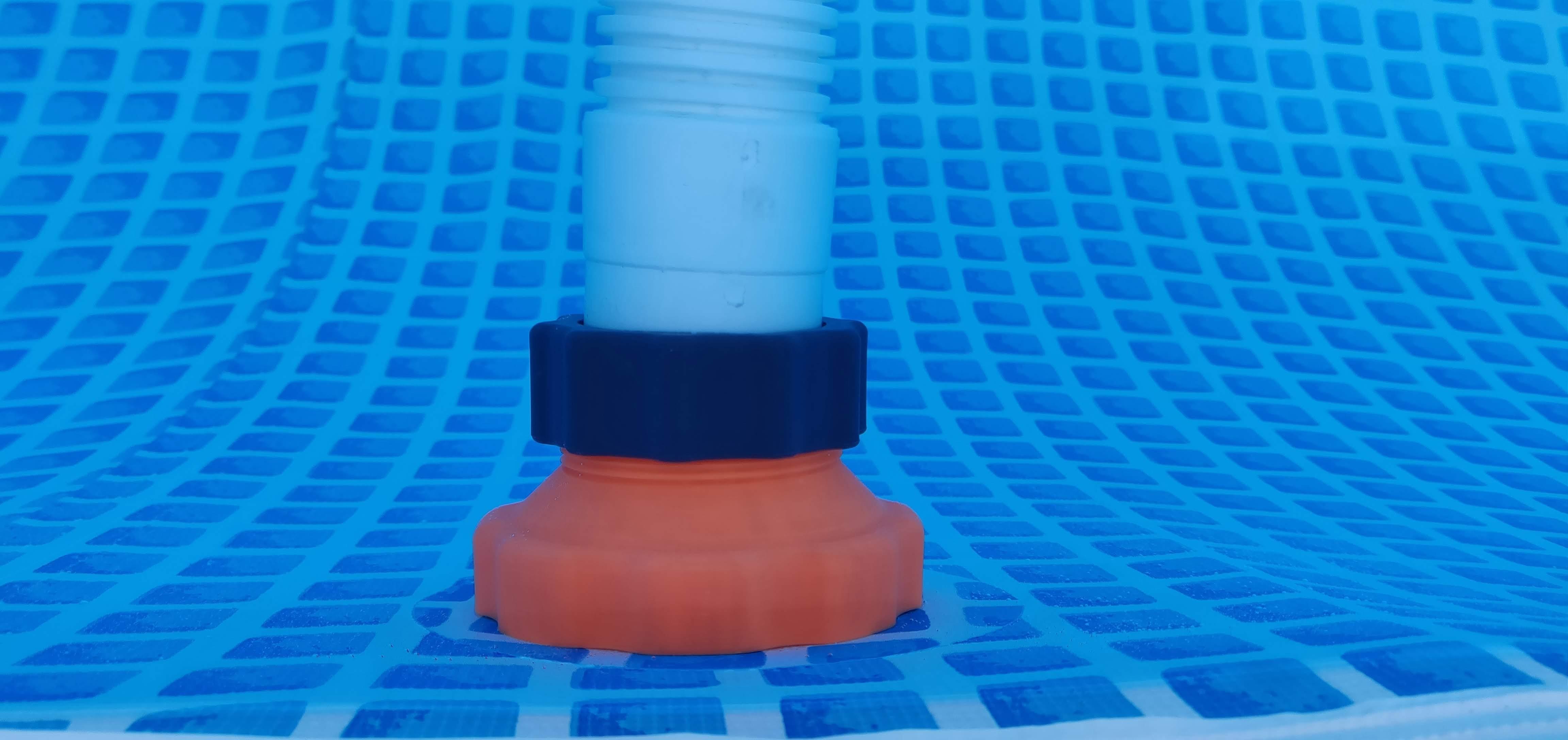 IMG_20180902_185228.jpg Télécharger fichier STL gratuit Adaptateur Intex Pool pour le nettoyeur de piscines • Plan imprimable en 3D, RT3DWorkshop