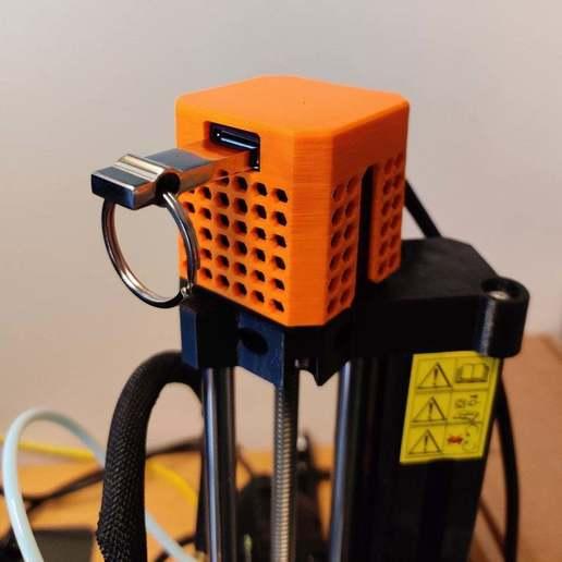 IMG_20200921_143520.jpg Télécharger fichier STL gratuit Prusa Mini USB Extension Z-Axis Mod • Plan à imprimer en 3D, RT3DWorkshop