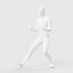 Fichier 3D Low Poly Taichi Grasp bird's tail, LowPoly512