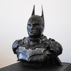 Download STL BATMAN BUST, tolgaaxu