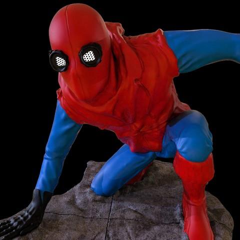 20.jpg Download STL file Spider-Man Homemade Suit • Design to 3D print, tolgaaxu