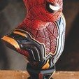 Download 3D printing models Spider-man Far From Home Bust - Iron Spider, tolgaaxu