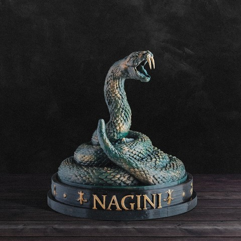 Télécharger fichier impression 3D Nagini - Harry Potter, tolgaaxu