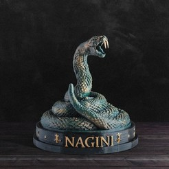 web1.jpg Download OBJ file Nagini - Harry Potter  • 3D printing design, tolgaaxu